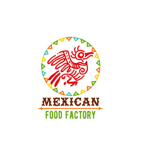 Vector icon for Mexican food cuisine