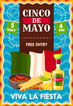 Cinco de Mayo holiday poster
