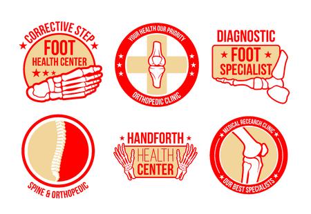 Iconos vectoriales para el centro de atención médica Foto de archivo - 100030411