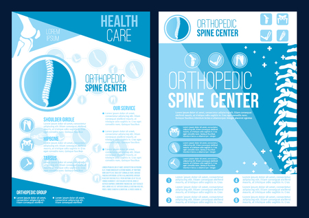 Vector orthopedics spine health center brochure