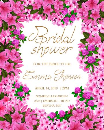 Brida shower invitation card