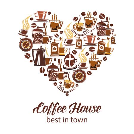 Coffee house vector design