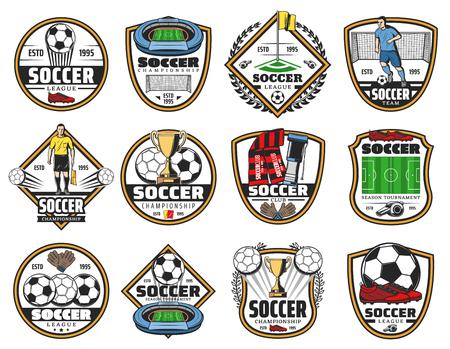 Label für Fußball- oder Fußballsportspiele