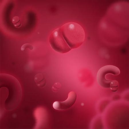 Viren, Bakterien und Pilze Mikrobiologie Wissenschaft mikroskopische Zellen. Nahaufnahme von Molekülen, die pathogene Keime 3D-Vektor darstellen Mikroorganismen, menschliche Parasiten und Infektionen in hoher Auflösung
