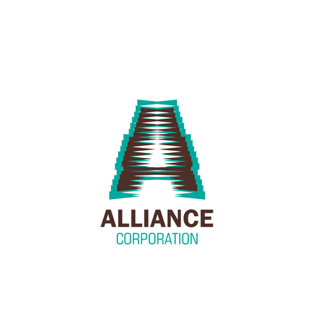 Alliance corporation vector icon isolated on a white background. Concept of partnership and teamwork, support of business. Association, unity or alliance symbol, vector sign for any business