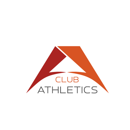 Athletics club or gym A letter icon for sport or fitness center. Vector premium letter A sign for workout training sports club in powerlifting or weightlifting or sportswear label design 스톡 콘텐츠 - 114520554