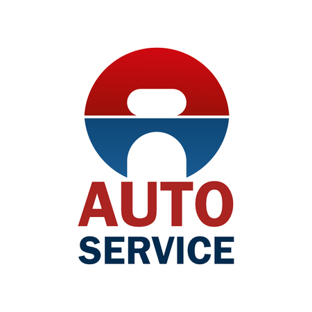 Auto service letter A icon for car spare parts store or automobile repair shop or service center. Vector Letter A wrench or spanner design for car diagnostics, spare parts or garage station
