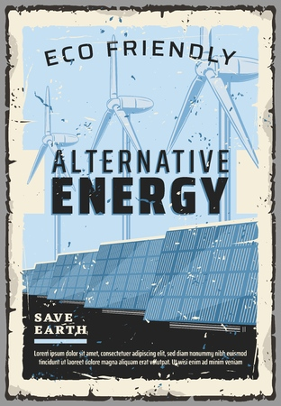 Alternative energy sources and natural power generation.