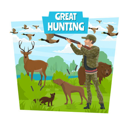 Hunt, opens season hunting club adventure.