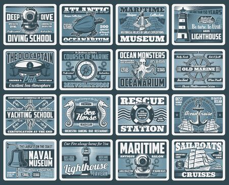 Nautical and sea travel vector design.  イラスト・ベクター素材