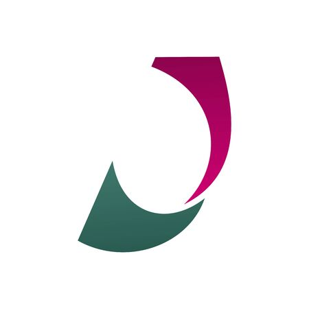 Letter J design in technology, business or commerce and education industry. Vector J letter for sport, travel company or construction corporation and innovation technology design