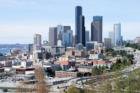 Ciudad de Seattle Foto de archivo - 13479321