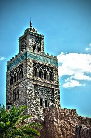 Średniowieczny Zamek Kamień zastrzelony w HDR. Zdjęcie Seryjne