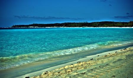 Beach in HDR Reklamní fotografie