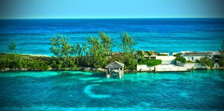 HDR of a Tropical Island Reklamní fotografie