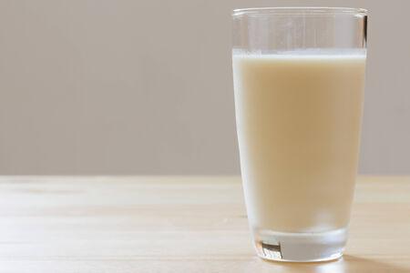 soja: leche de soya