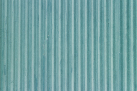 metal sheet: Blue corrugated metal sheet background