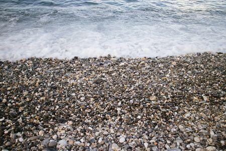 pebble: pebble beach Stock Photo