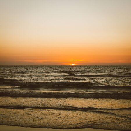 beach sunrise: sunset beach