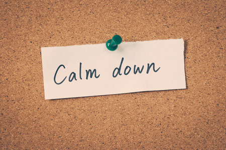 calm down: Calmati