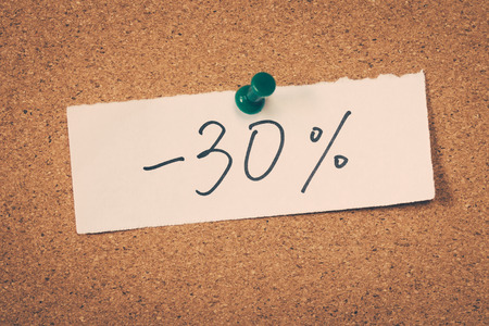 thirty percent off: 30 thirty percent off