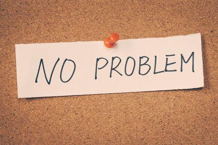 no problem: No problem