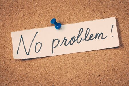 in problem: No problem