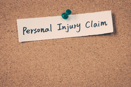medical personal: Personal injury claim