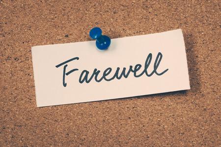 the farewell: Despedida