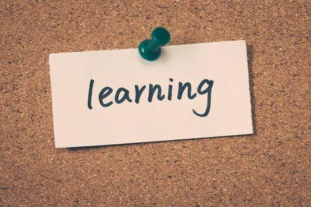 lifelong: learning Stock Photo
