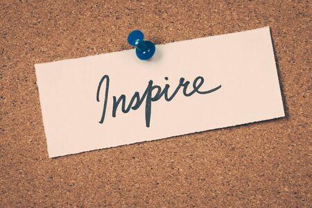 inspire: inspire
