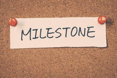 milestone: milestone