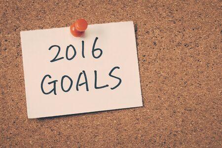 objetivos: 2016 metas