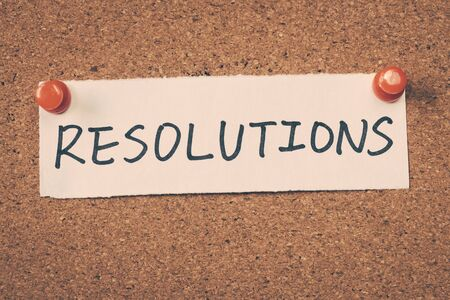 message board: resolutions