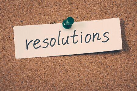 resolutions: resolutions