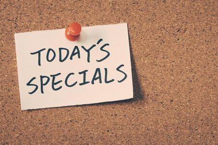 specials: todays specials
