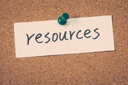 resources Stock Photo