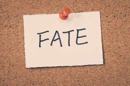 fate: fate