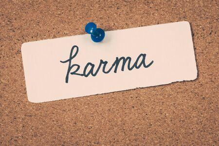 karma: karma Stock Photo