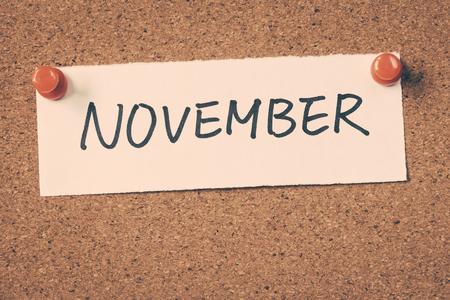 November Imagens
