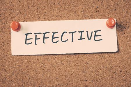 effective: effective