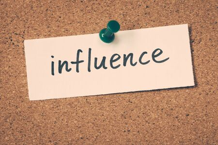 influence: influence Stock Photo