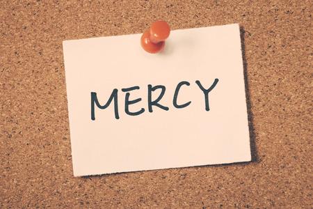 mercy: mercy