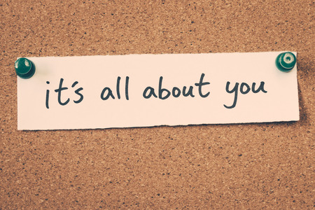 about you: its all about you