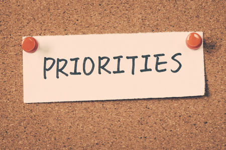 priorities: priorities