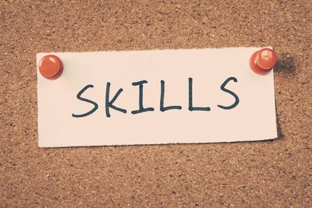 skill: skills Stock Photo