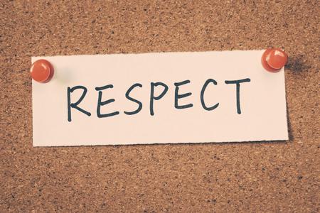 respeto: respeto