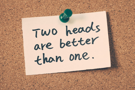 better: two heads are better than one word on note