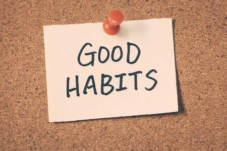Buenos hábitos