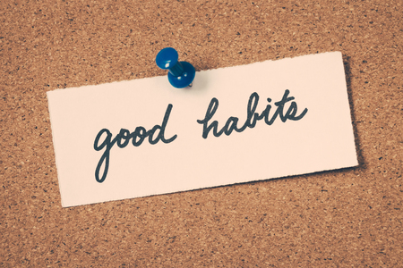 good habits Stock Photo